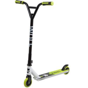 САМОКАТ ТРЮКОВЫЙ NOVATRACK WOLF EL 100P.WOLF WHITE GREEN