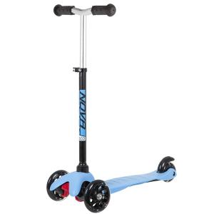 САМОКАТ-КИКБОРД NOVATRACK DISCO KIDS BASIC BLACK BLUE