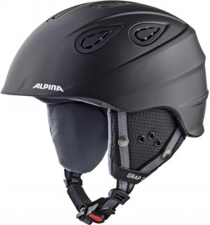 ШЛЕМ ЗИМНИЙ ALPINA 2021 GRAP 2.0 BLACK MATT